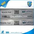 Kommerzielle Verwendung Kundenspezifische QR Code Aufkleber Druck & Sicherheit Garantie void Papier Aufkleber