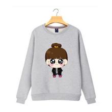 Мода 80 Хлопок 20 Полиэстер Пуловер Женщины Толстовки