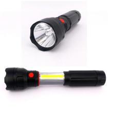 4 AAA bateria Powered LED luz de trabalho 3W COB LED retrátil lanterna
