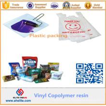 Resina clorada de resina MP45 para hacer tinta compuesta plástica