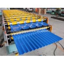Fornecedor de máquinas rolantes automáticas, máquina de fabricação de perfis ondulados panela de aço