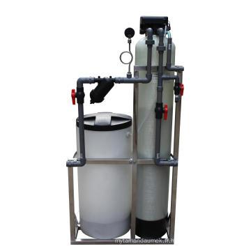 Adoucisseur d'eau simple de régénération de résine de cation