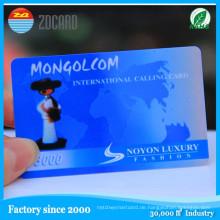 PVC-Karte Magnetstreifen Kunststoff Mitgliedskarte