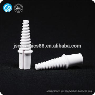 Hochdruck 95 Aluminiumoxid Keramik Zündkerze Keramik Zünder für den werkseitigen Gebrauch