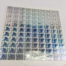 Customized Laser Marking Hologram Label and Metal