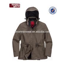 Wasserdichte neueste benutzerdefinierte 100% Polyester Jacke Männer