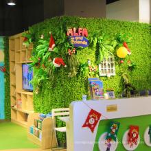 12 pieces 50 x 50 cm DIY customized fresh PE artificial foliage privacy for shop decor
