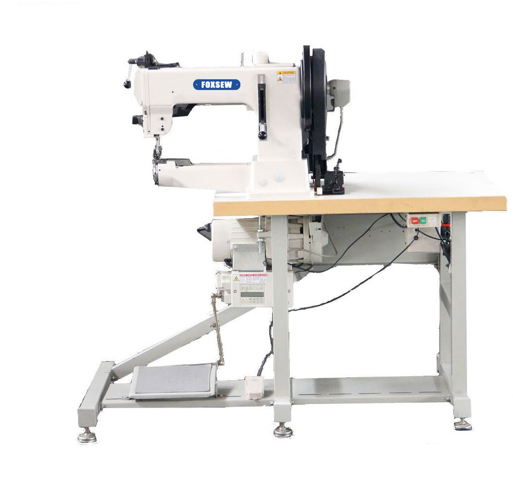 KD-205-370 Cylinder Bed Compound Feed Walking Foot Heavy Duty Lockstitch Sewing Machine