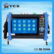 Verificador de la pantalla táctil del probador de la cámara del IP del CCTV de YCX ADH 7inch Probador de la exploración del servidor / IP de Onvif AHD / TVI / CVI HDMI 1080P / PTZ / POE / WIFI / FTP