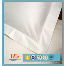 100% Cotton Sateen White Pillow Case For 5 Star Hotels