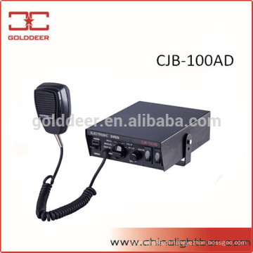 Alto-falante e 100W sirene de polícia sirene eletrônica para carro (CJB-100AD)