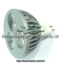 DC12v 3w gradable MR16 conduit l'éclairage spot shen zhen manufacture