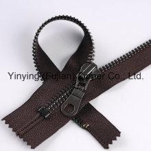 Высокое качество 8 # Черный никель металлической молнии для обуви
