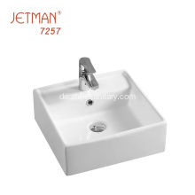 Desktop Art Basin Badezimmer Square Design