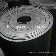 Feuille de caoutchouc de 5mm avec l'insertion de tissu