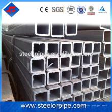 Novo produto lançamento q235 astm a53 aço carbono tubo quadrado