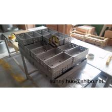 Boîte de molybdène de Tzm de grande pureté, bateau d'alliage de Tzm, plateau de Tzm avec le meilleur prix