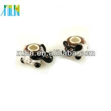 grânulos animais do bracelete do vidro de murano original para a venda
