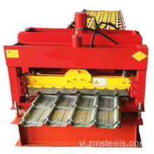 Thép tráng men Roof Tile Metal Sheet Making Machine
