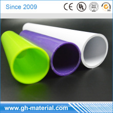 100% virgin material Strong and rigid plastic pipe color pvc pipe