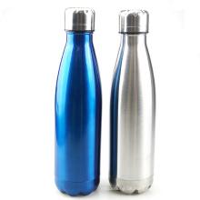 beliebte auslaufsichere doppelwandige vakuumisolierte edelstahl wasserflasche