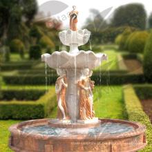 Estátuas de fonte de água de Deoration de casa (serviço feito por encomenda está disponível)