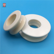 Guía de rodillos de hilo de cerámica de hilatura textil resistente