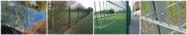 welded mesh fences