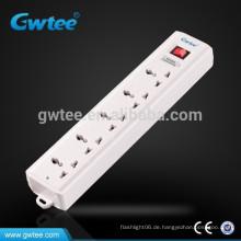 5-polige Steckdose universelle elektrische Verlängerung Sicherung Steckdosenleiste