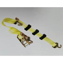 Ratchet Strap Tie for Fixing Vehicle Wheel