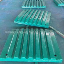Customized Jaw Crusher Plate Teeth Plate with Size 150*750