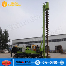 Rotary Bore Pile Drilling Rig / Screw Pile Driver / Hydraulic Pile Driving Machine