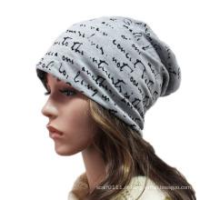Moda Impresso Algodão Malha Inverno Quente Esqui Sports Hat (YKY3128)