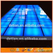 le plancher augmenté de salon commercial durable peut être réutilisé pour le plancher d'exposition