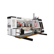 Dongguang hot sale leadedge carton boxes printing and die cutting machine