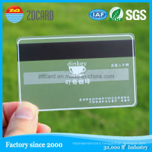 Contactless Chip Card/NFC Smart Card/Blank Clear Transparent Business Cards