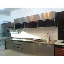 2015 Custom Stainless Steel Modular Kitchen