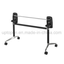 Movable and Foldable Aluminum Alloy Table Base for Large Table Top (SP-FTL085)