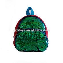 Mochila reversível de venda quente da lantejoula com remendos personalizados da lantejoula da cor