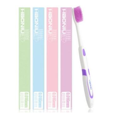 Escova de dentes macia para adultos, escova de dentes com características econômicas no atacado