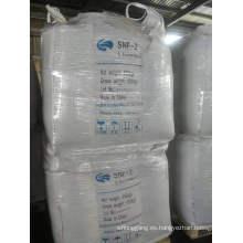 súper plastificante a base de naftaleno