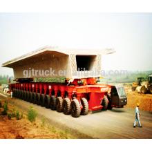 Remolque pesado del transportador del astillero modular del remolque pesado del astillero 300T del cargamento del remolque / remolque modular hidráulico