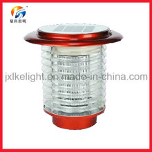 Lámpara del asesino del Mosquito PP LED recargable 2-en-1