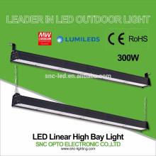 IP66 300w LED Warehouse High Bay Light / LED Linear High Bay Lamp 110lm/w