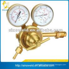 gas regulator with meter