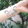 Novo Design Personalidade Impermeável Kids Body Tattoo Adesivos