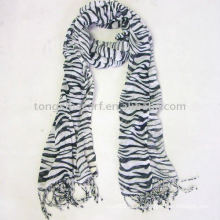 100% вискоза животных печати шарф