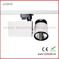 3 Wire 15W Mini COB LED Gallery Track Light for Cloth Shop (LC2315)