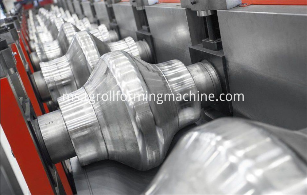 Metal Crash Barrier Roll Forming Machine