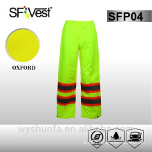 ANSI/ISEA 300D Oxford Safety Rain Gear With PU or PVC coating
